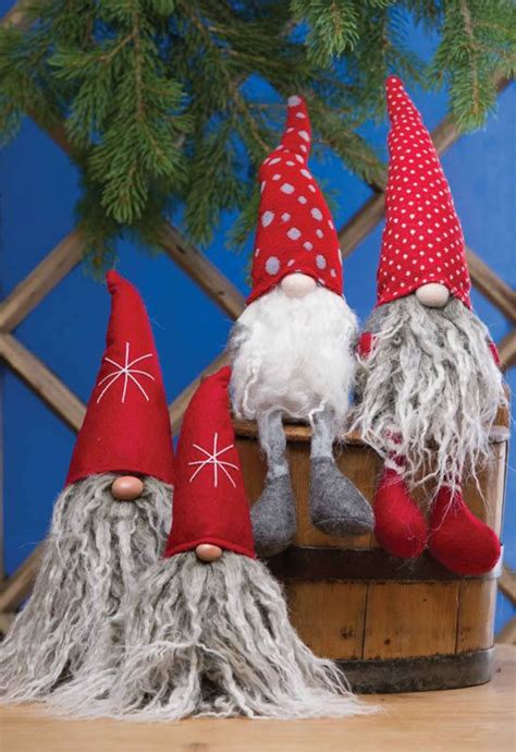 sweden christmas kids crafts nisse figures gnomes gnomes gnome and craft
