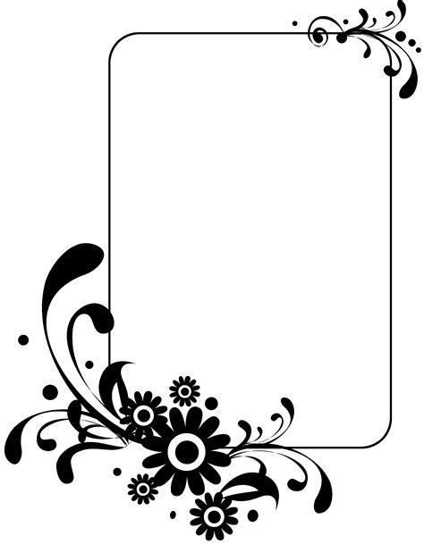 frame pattern clipart frame design flower clipart 50