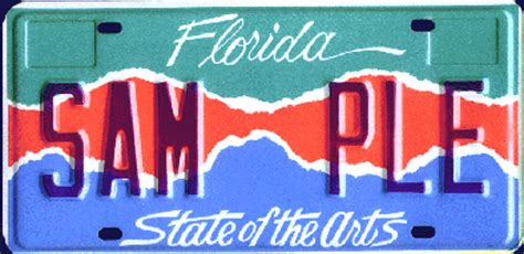 Vanity Plates In Florida by July 1 2006
