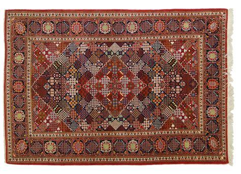 tappeti persiani kashan tappeto kashan dal raro disegno geometrico morandi tappeti
