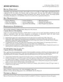 exles of resumes 9 resume sles
