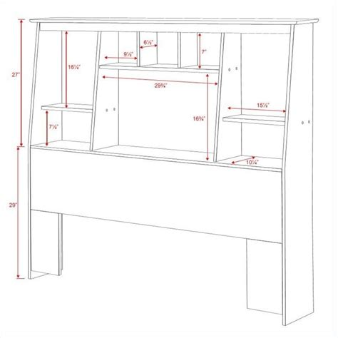 Size Bookcase Headboard Plans by 29 Model Bookcase Headboard Plans Egorlin