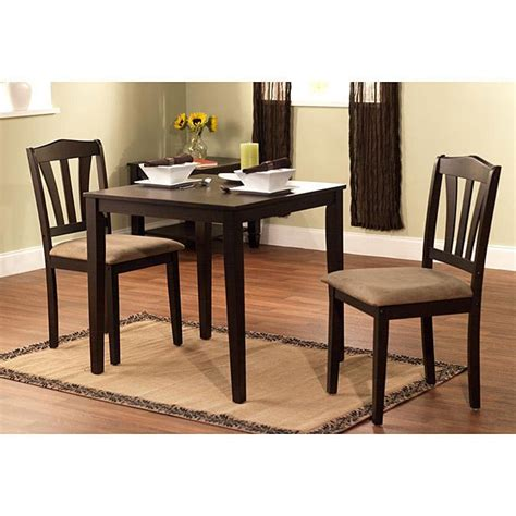3 kitchen table set modern brown 3 dining room table and chairs kitchen dining set