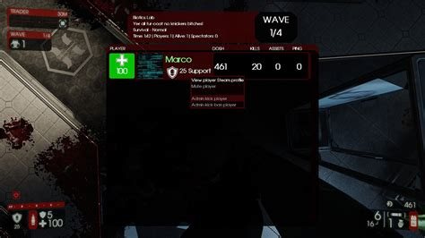 Killing Floor Servers by Mutator Server Extension Mod Tripwire Interactive Forums