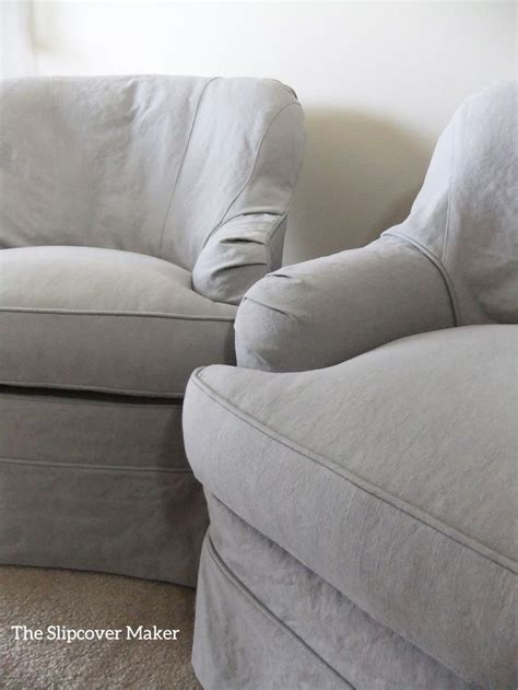 grey slipcovers slipcovers in a grey linen blend from big duck fabric