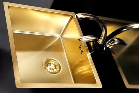 gold kitchen sink gold brass kitchen sink stainless steel flushmount