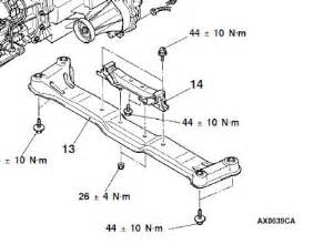 Mitsubishi Triton Gearbox Diagram Gen3 Diy Auto Transmission Fluid Change Pajero 4wd