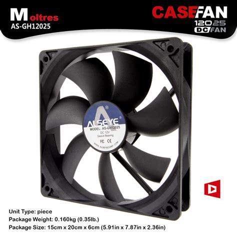 Alseye Fan Casing Windlight alseye 120mm computer fan cooler 1600rpm 3pin 12v fan radiator 10 pieces wholesale for agents
