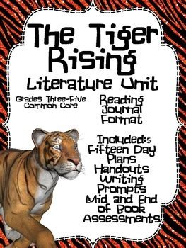 the tiger and the acrobat books the tiger rising common literature unit plans