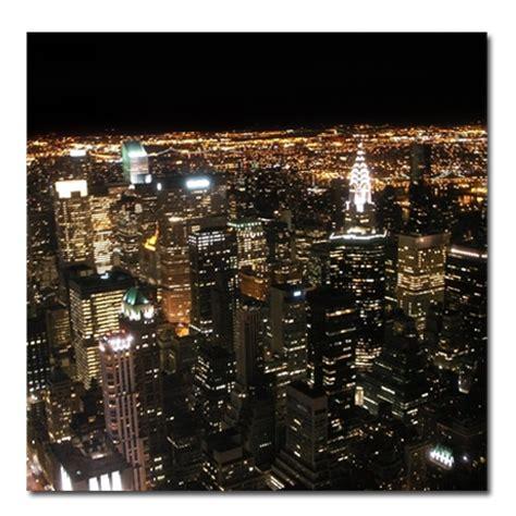 table de nuit new york tableau d 233 co new york nuit 2 stickers malin