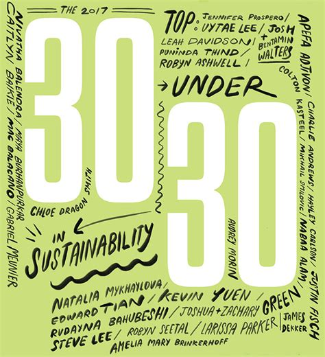 Corporate Knights Best Mba 2017 by Meet The 2017 Top 30 30 In Sustainability
