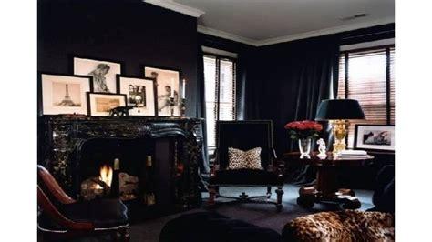 dark home decor the black wall a bold statement in interior design