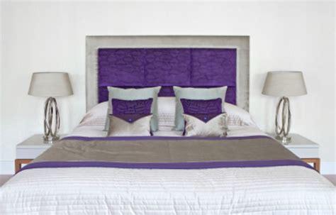 Diy Headboard Ideas Purple Headboard