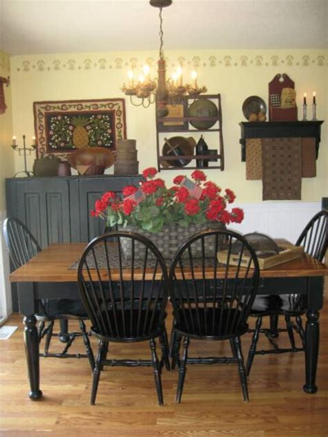 primitive dining room tables primitive place primitive colonial inspired dining rooms