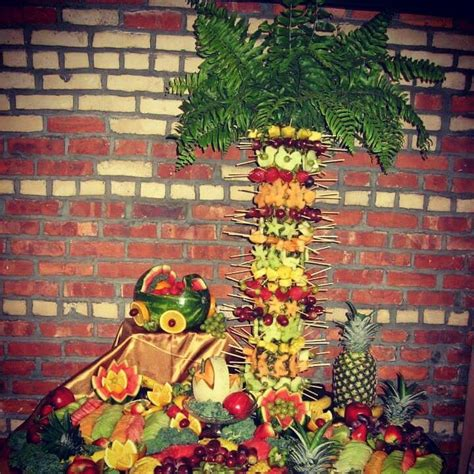 Fruit Table For Baby Shower by 17 Best Images About Fruit Carving Platters By Katiasdecors On Peacocks Towers
