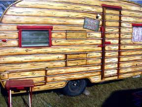 Campers Barn Vintage Painted Cowgirl Western Shasta Trailer