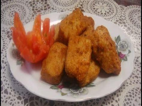 cara buat nugget ayam sendiri cara membuat nugget ayam sendiri chicken nugget youtube