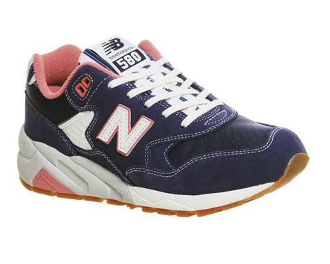 Sepatu Casual New Balance 580 Navy Made In new balance 580 navy blue pink riviera his trainers