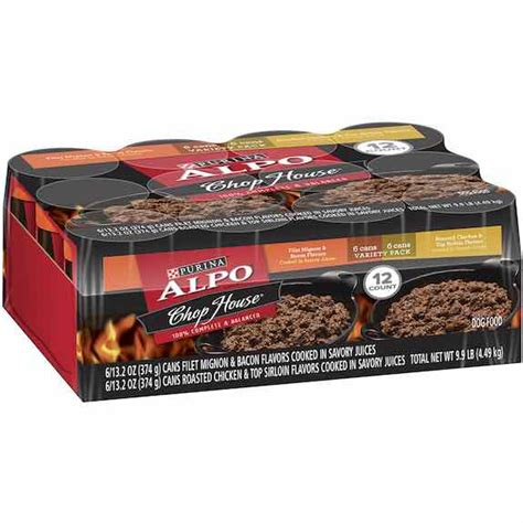 alpo chop house dog food target alpo canned dog food 12 packs only 3 82 only 0 31 per can mojosavings com
