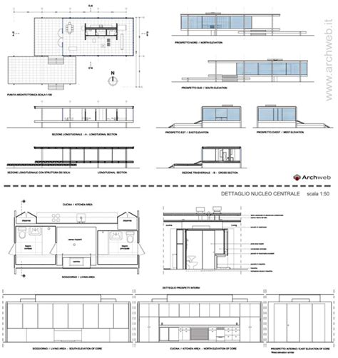 farnsworth house floor plan dimensions farnsworth house dwg pictures