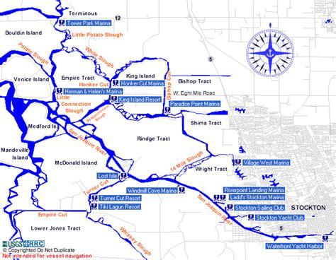 california map stockton deltarecreation