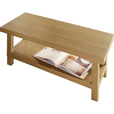 Buy Home Stratford Chunky Coffee Table Oak Effect At Argos Coffee Table