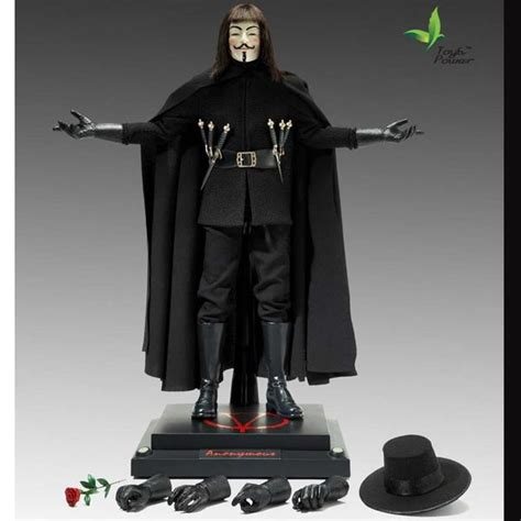 v figures monkey depot boxed figure toys power v for vendetta