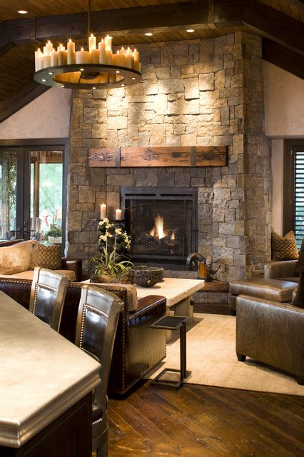 rustic family room rustic family room rustic family room minneapolis