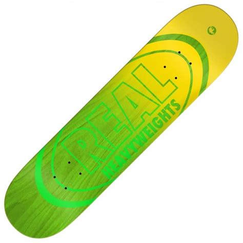 Skateboard Griptape Grizzly Neon Green real skateboards heavyweights green skateboard deck 8 5