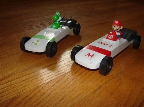 pinewood derby car mario kart pinewood derby
