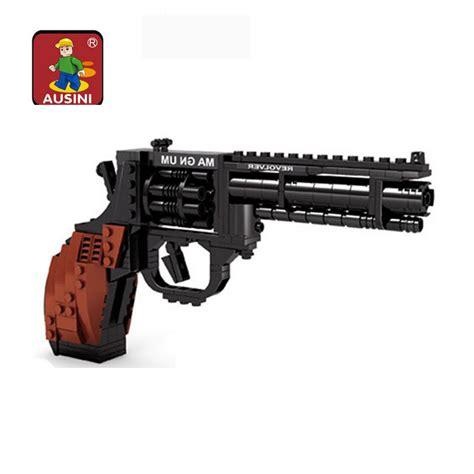 Ausini Gun Magnum Revolver mylb revolver pistol power gun weapon arms model 1 1 3d