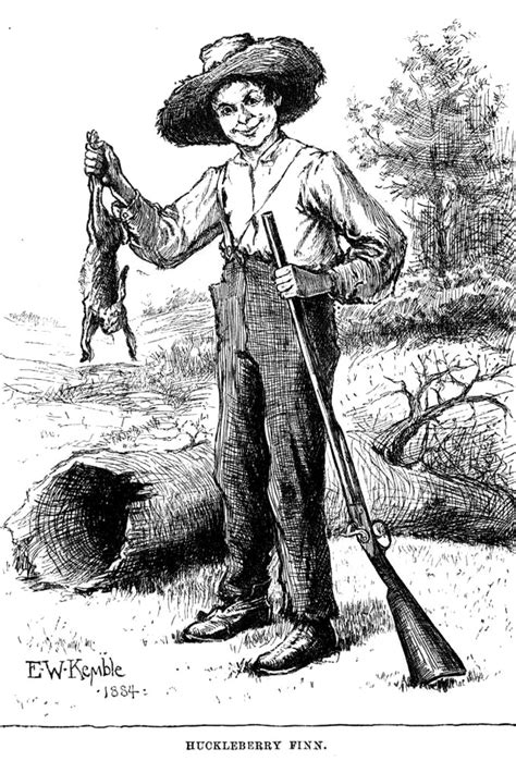 adventures of huckleberry finn simple