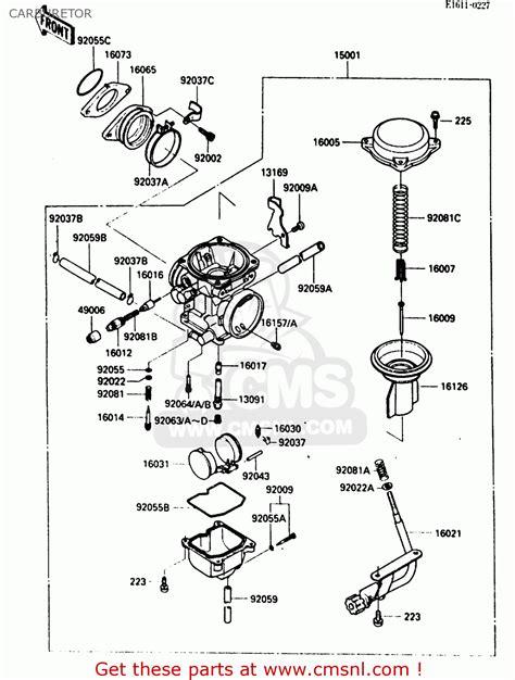 kawasaki bayou  wiring diagram wiring diagram