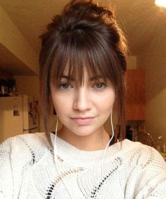 cutting shorter pieces of hair near the face fringe hairstyles latest hairstyle in 2018