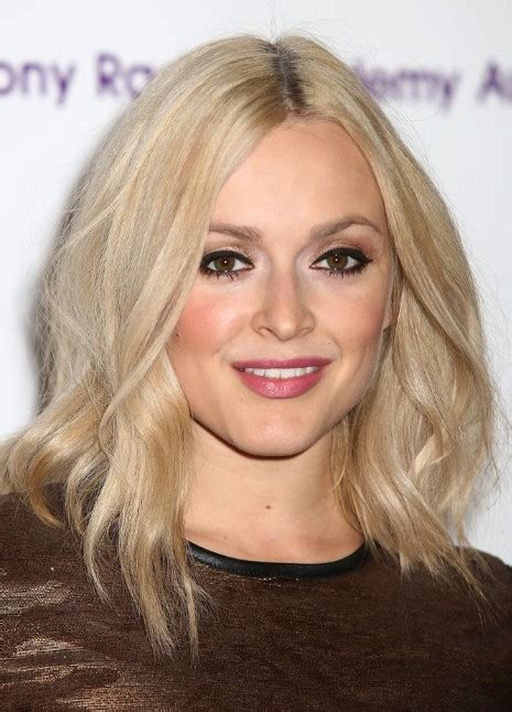 fearne cotton shoulder length hairstyles  fine hair