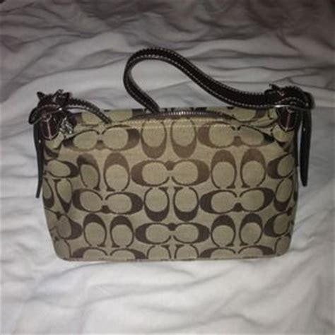 G Ci Hobo Coins Mini Pocket coach bags authentic small purse with signature fabric