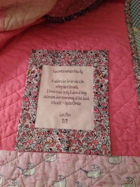 Labels For Quilts Sles by Quilt Quotes For Labels Images