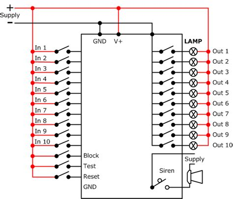 annunciator panel wiring diagram wiring diagram schemes