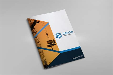 design management and builders corp orion construction company profile on behance