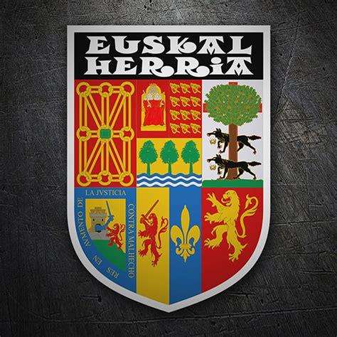 Wappen Aufkleber by Wappen Aufkleber Baskenland Webwandtattoo