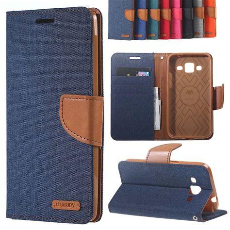 Samsung J5 J500 Vintage Leather Hardcase Casing Backcover Kulit msk canvas texture leather wallet flip stand cover for samsung galaxy j5 j7 2016 j500 j510