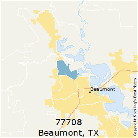 beaumont zip code map best places to live in beaumont zip 77708