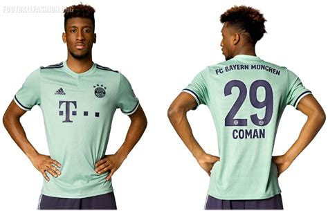 Bayern Muenchen Away bayern munich 2018 19 adidas away kit football fashion org