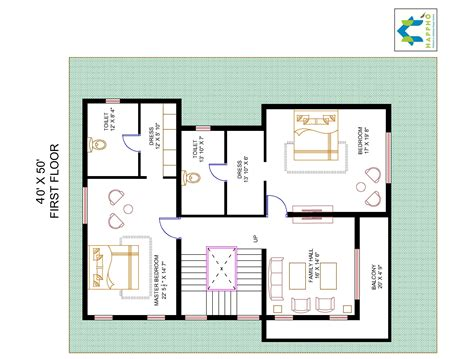 floor plans 2000 square 3 bhk floor plan for 40 x 50 plot 2000 square 222