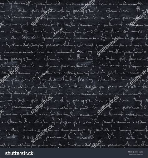 seamless pattern text seamless pattern handwriting text on asphalt stock