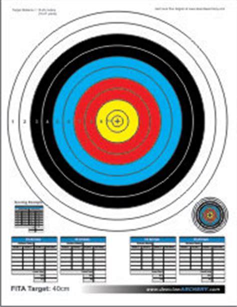printable fita indoor targets printable targets dewclaw archery