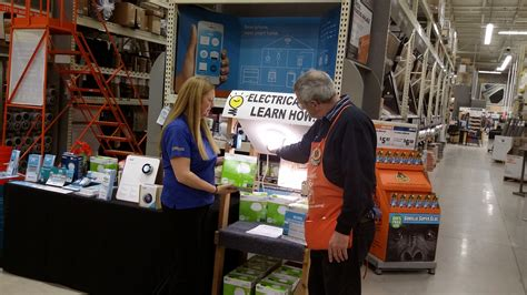 home depot in salem hosts nhsaves
