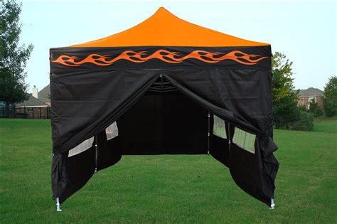 10 By 20 Canopy Tent - 10 x 20 orange pop up tent canopy gazebo