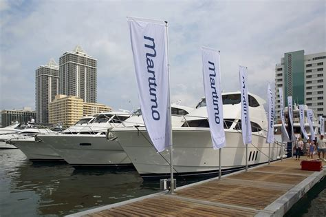 miami boat show yachts yachts miami beach boat show delivers for maritimo