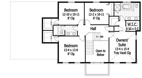 center hall colonial open floor plan center hall colonial 14473rk 2nd floor master suite